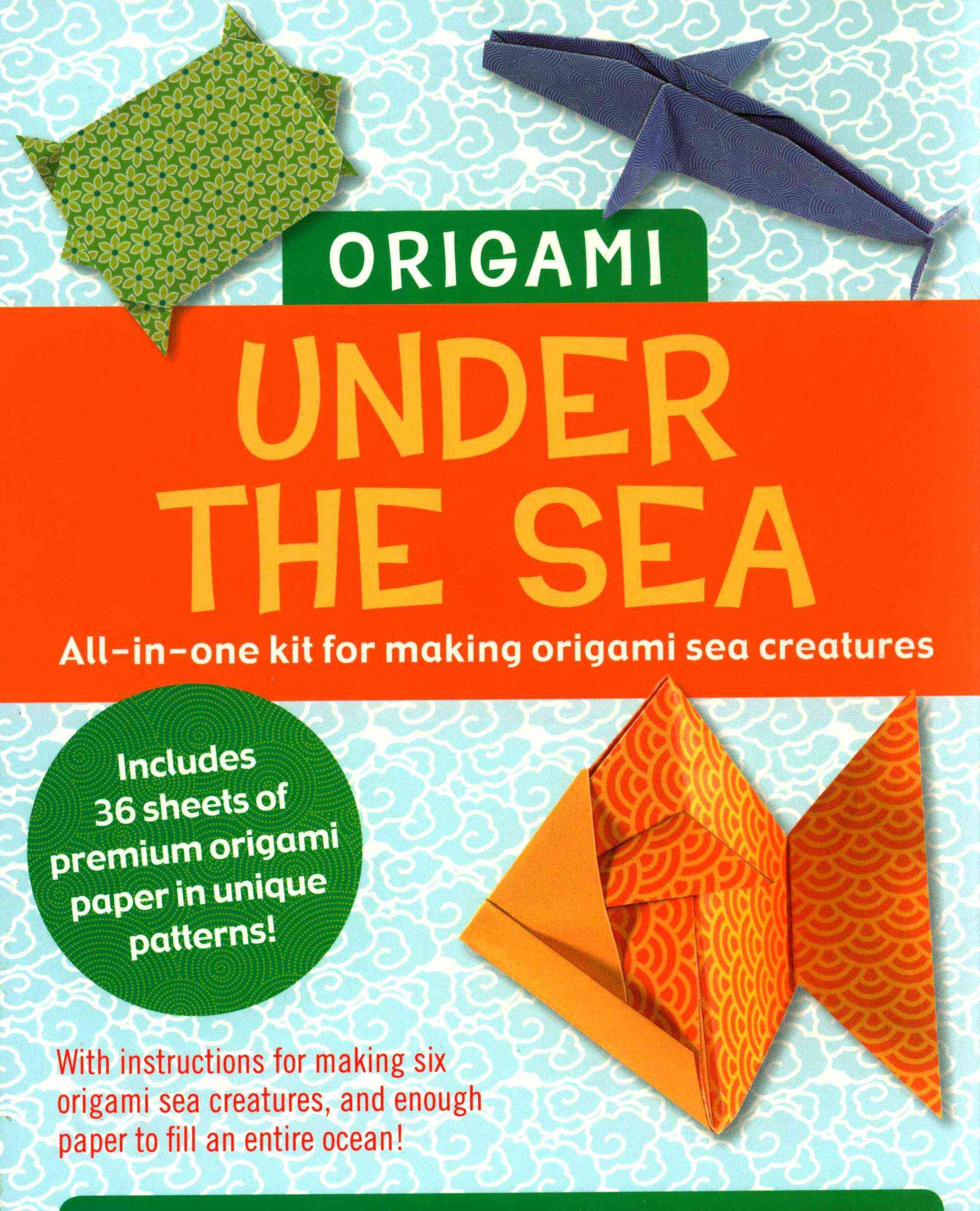 Origami Kit: Under the Sea By Peter Pauper Press (COR)